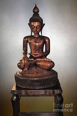 Photograph - Bhumisparsha Mudra By Kaye Menner by Kaye Menner