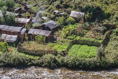 Photograph - Bhutan Neighborhood by Paul Vitko