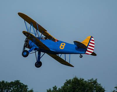 Photograph - Bi-plane 1 by Leah Palmer