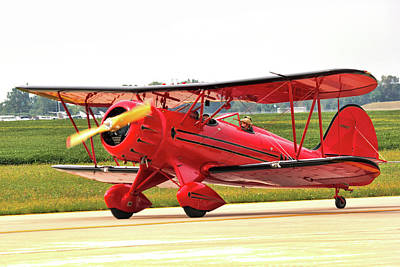 Photograph - Bi Wing Plane by Pat Cook