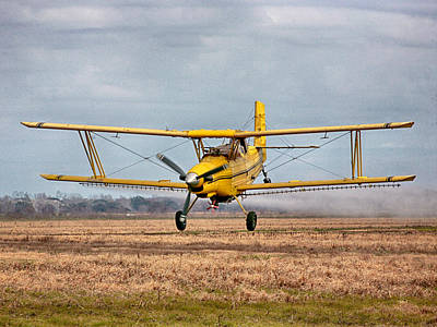 Photograph - Bi Wing Crop Duster Color by Charles McKelroy