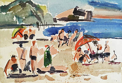 Painting - Biarritz by Phyllis Hanson Lester