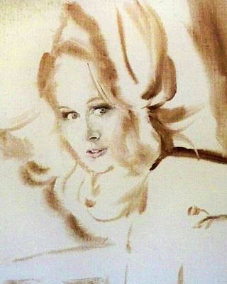 Painting - Bibi From Bordeaux by Ed Heaton