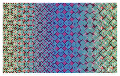 Digital Art - Bibi Khanum Ds Patterns No.3.1 by Mamoun Sakkal