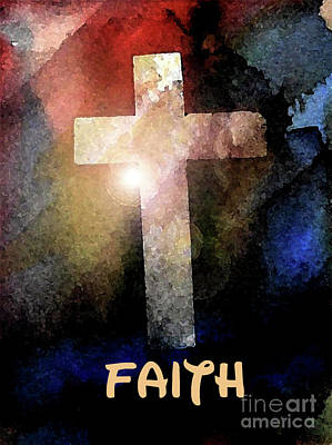 Painting - Biblical-faith by Terry Banderas