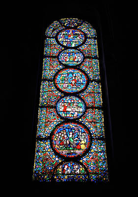 Photograph - Biblical Stained Glass by Shaun Higson