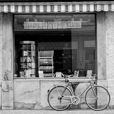 Photograph - Bibliotheque by Colleen Williams