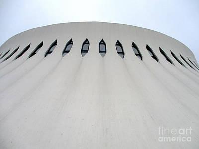 Photograph - Bibliotheque Oscar Niemeyer 5 by Randall Weidner