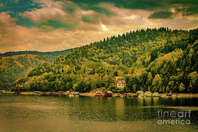 Lake Photograph - Bicaz Lake - Romania by Claudia M Photography