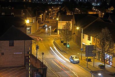 Photograph - Bicester Night Scene by Tony Murtagh