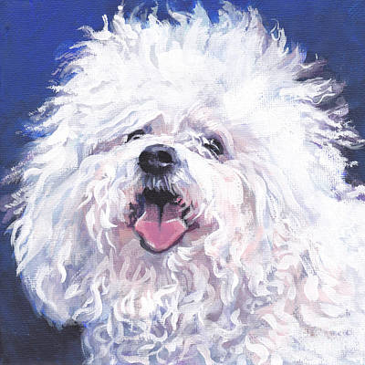 Painting - Bichon Bolognese by Lee Ann Shepard