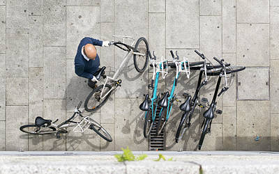 Photograph - Bicicle by Bruno Rosa