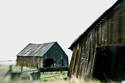 Photograph - Bickleton Barns by Craig Strand