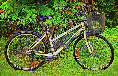 Photograph - Bicycle 14218 by Ray Shrewsberry