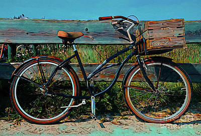 Photograph - Bicycle 18318 by Ray Shrewsberry