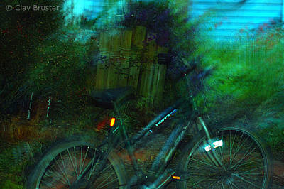 Photograph - Bicycle by Clayton Bruster