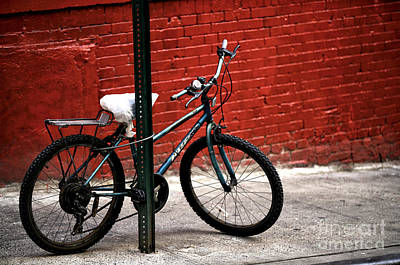 Photograph - Bicycle In Chinatown by John Rizzuto