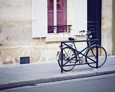 Photograph - Bicycle In Paris by Melanie Alexandra Price