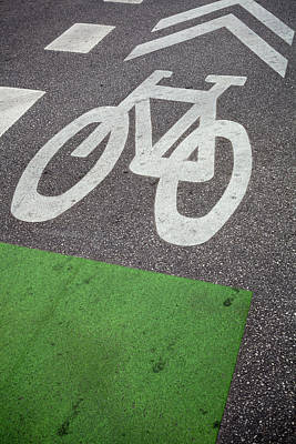 Photograph - Bicycle Lane by Bernice Williams