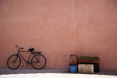 Morroco Photograph - Bicycle Marrakech  by Pauline Cutler