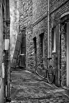 Photograph - Bicycle Mont Saint Michel by Hugh Smith