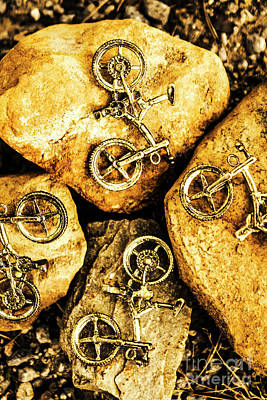 Terrain Photograph - Bicycle Obstacle Course by Jorgo Photography - Wall Art Gallery