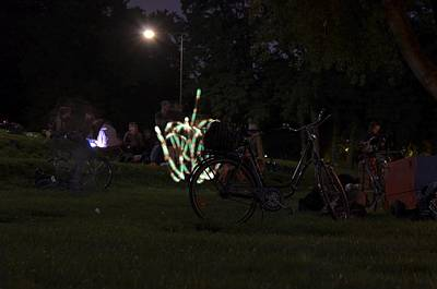 Photograph - Bicycle On The Lawn by Dirk Jung