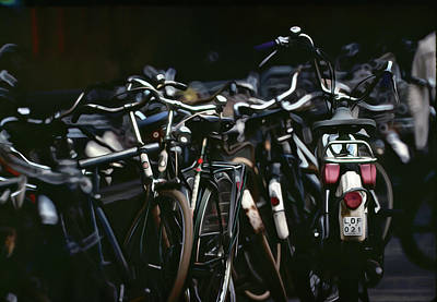 Photograph - Bicycle Parking - Digitalart by Roy Williams