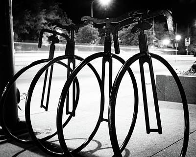 Photograph - Bicycle Parking by Miguel Winterpacht