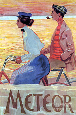 Photograph - Bicycle Poster, C1910 by Granger