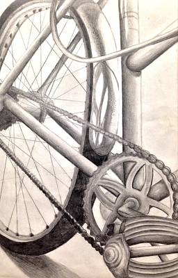 Bicycle Ride Original by Madeline Lacourt