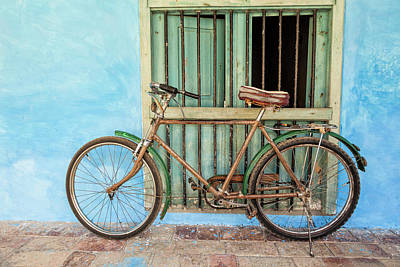 Bicycle Photograph - Bicycle, Trinidad by Brenda Tharp