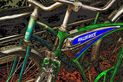 Bicycle Photograph - Bicycles by David Patterson