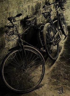 Photograph - Bicycles In Cyprus by Jim Vance