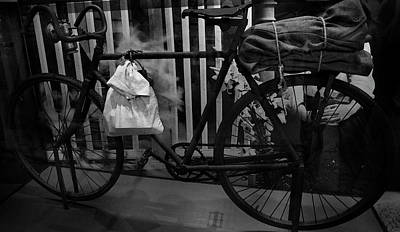 Photograph - Bicycles In Pre War Australia by Miroslava Jurcik