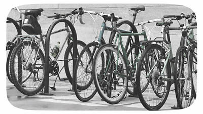 Photograph - Bicycles by Julie Niemela