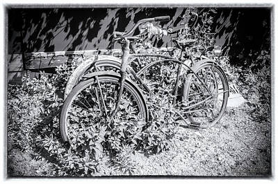 Classic Photograph - Bicycles Of Old by LeeAnn McLaneGoetz McLaneGoetzStudioLLCcom