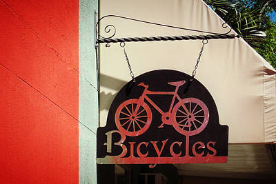 Photograph - Bicycles by Valerie Reeves