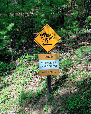 Photograph - Bicyclists Beware by George Jones