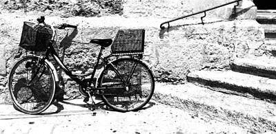 Photograph - Bicyle In Cuitadella by John Colley