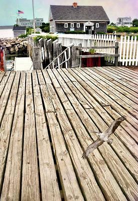 Photograph - Biddeford Boardwalk by Diana Angstadt