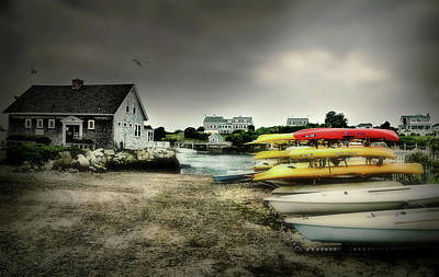 Photograph - Biddeford Kayaks by Diana Angstadt