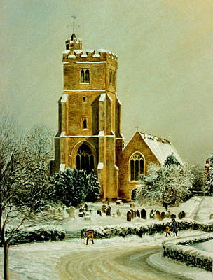 Biddenden Church Art Print by Rosemary Colyer