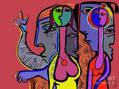 Digital Art - Bidding by Hans Magden