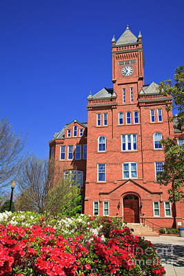 Biddle Hall In The Spring Art Print