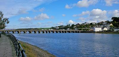 Photograph - Bideford Long Bridge by Richard Brookes