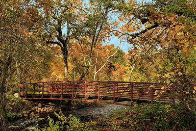 Art Print featuring the photograph Bidwell Park Bridge In Chico by James Eddy