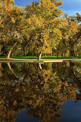 Photograph - Bidwell Park Reflections by James Eddy