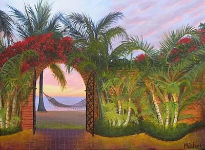 Painting - Bien Venidos by Mishel Vanderten