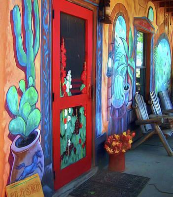 Screen Doors Photograph - Bienvenidos by Nikolyn McDonald